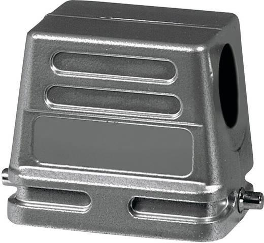 Afdekkap 2 schuinverbinders, 1 kabeluitgang zijkant, Lage bouwvorm Amphenol C146 10G010 500 1 1 stuks