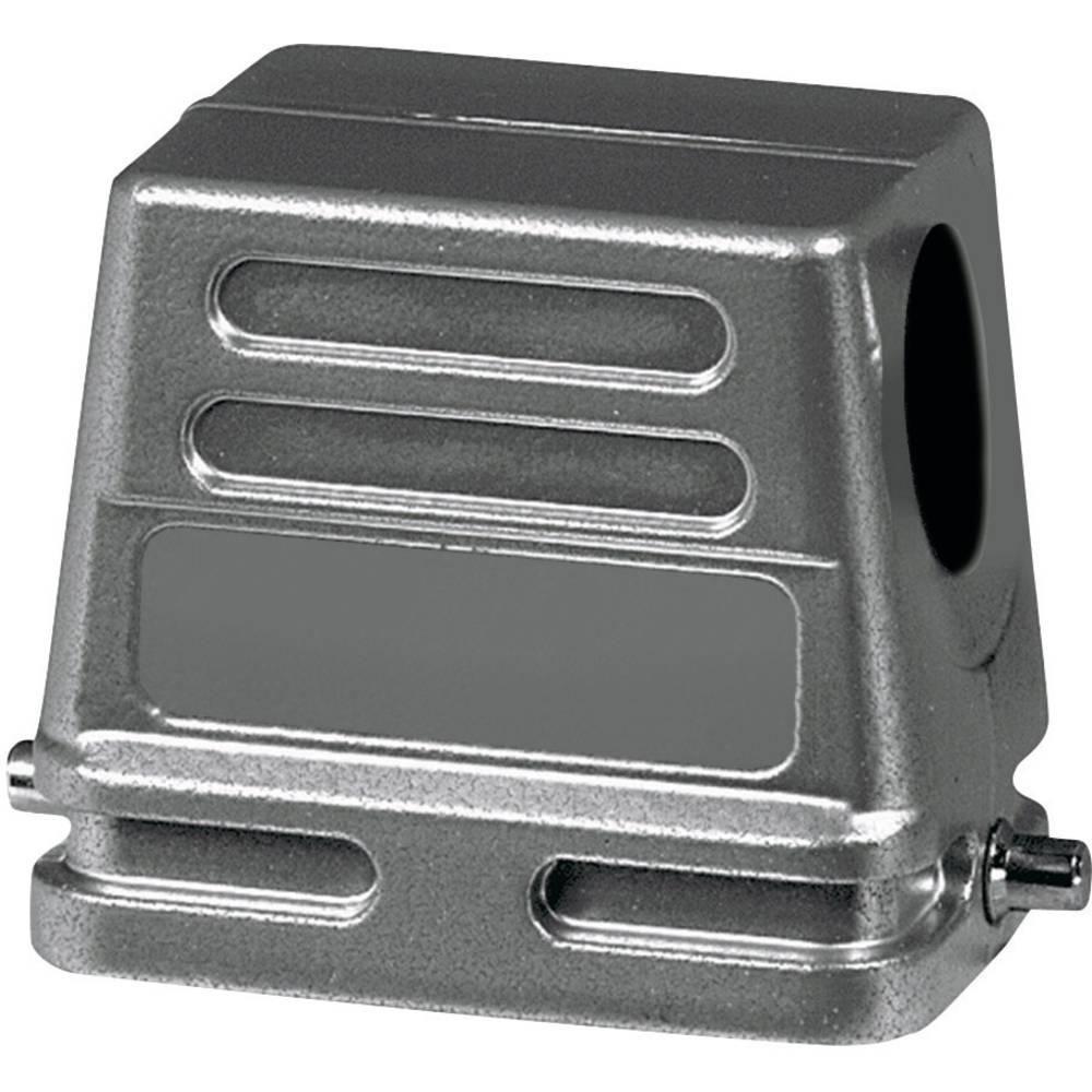 Amphenol C146 10G024 500 1-1 Kontakthölje 2 tvärgående byglar, 1 kabelutgång vinklad, Låg konstruktion 1 st