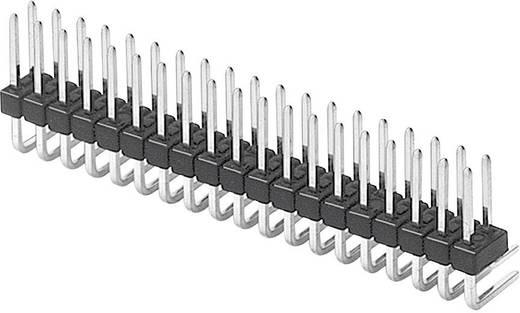 Male header (standaard) Aantal rijen: 2 Aantal polen per rij: 10 W & P Products 947-13-020-00 1 stuks
