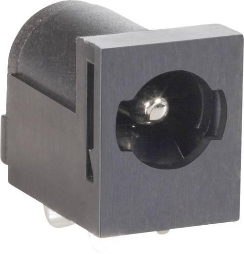 BKL Electronic 072820 Laagspannings-connector Soort schakelcontact: NO Bus, inbouw horizontaal 5.85 mm 2.5 mm 1 stuks