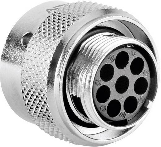 Kabelconnector-bus - serie RT360 Nominale stroom (details): 13 A Aantal polen: 8 RT0612-8SNH Amphenol