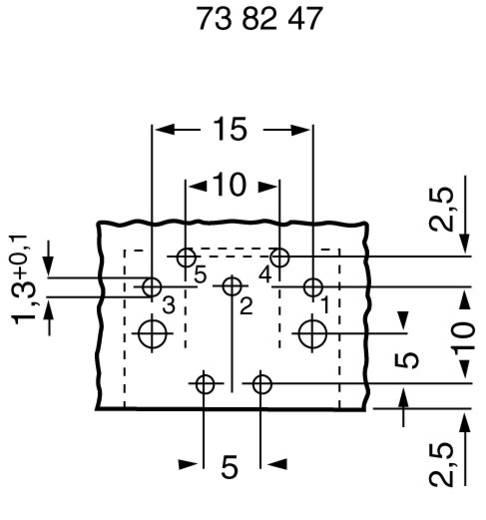 Hirschmann MAB 5SH DIN-connector Bus, inbouw horizontaal Aantal polen: 5 Zwart 1 stuks