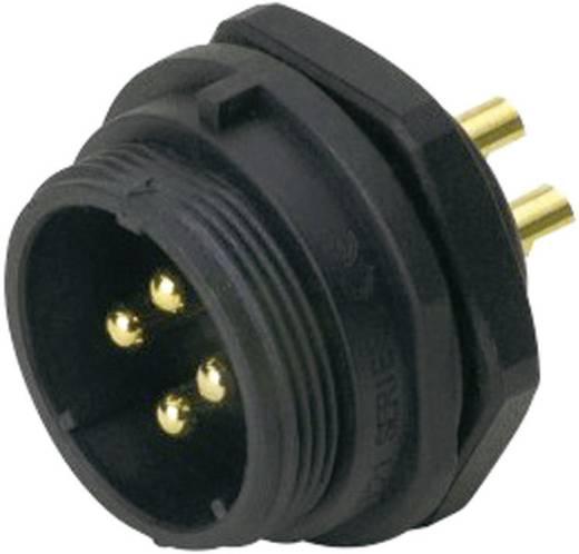IP68-connector serie SP2112 / P 12 Apparaatstekker voor frontmontage Weipu SP2112 / P 12 IP68 Aantal polen: 12