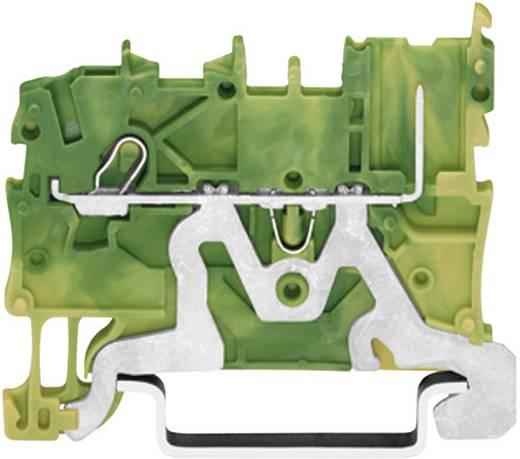 Basisklem 3.50 mm Veerklem Toewijzing: Terre Groen-geel WAGO 2020-1207 1 stuks