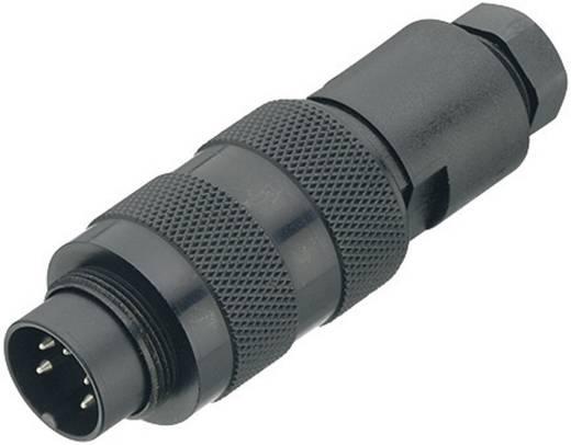Ronde miniatuurstekker serie 723 Kabelsteker Binder 09-0109-25-04 IP67 Aantal polen: 4
