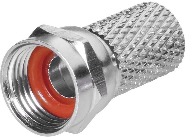 BKL Electronic 0403018/R F-stekker met draaiaansluiting Kabeldiameter: 6.8 mm