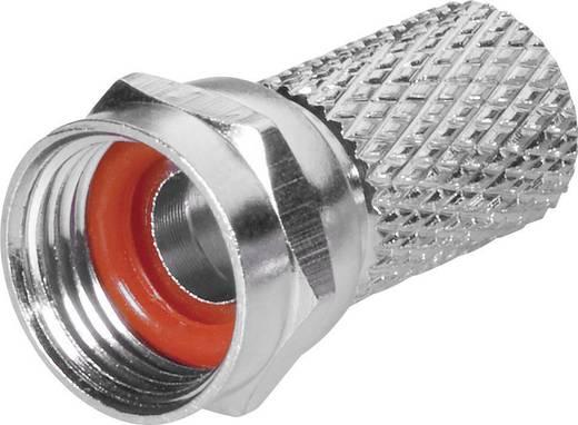 BKL Electronic 0403018/R F-stekker met draaiaansluiting Stekkerverbinder Kabeldiameter: 6.8 mm