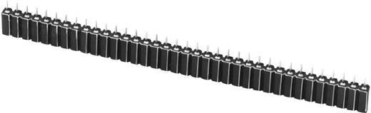 Female connector (precisie) Aantal rijen: 1 Aantal polen per rij: 34 W & P Products 153-034-1-50-00 1 stuks