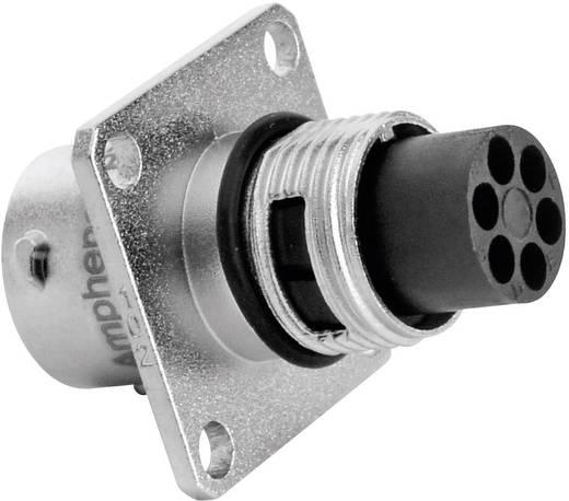Apparaatsteker - serie RT360 Vierkante flens Aantal polen: 6 RT0010-6PNH Amphenol