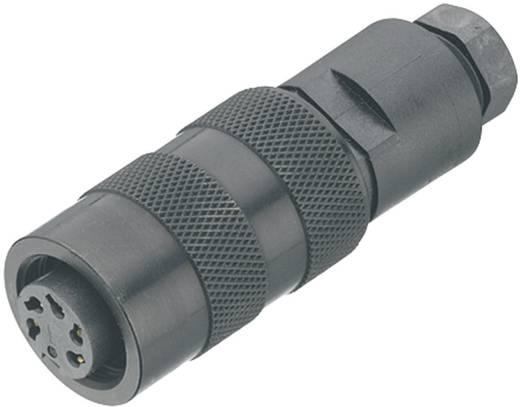 Ronde miniatuurstekker serie 723 Kabelsteker Binder 09-0122-25-06 IP67 Aantal polen: 6 DIN