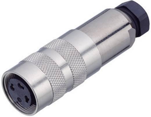 Miniatuur ronde stekker serie 423 Kabeldoos met afschermring Binder 99-5106-15-03 IP67 Aantal polen: 3 DIN