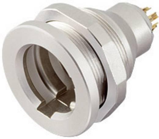 Subminiatuur ronde stekker serie 430 Flensdoos Binder 09-4908-015-03 IP67 Aantal polen: 3