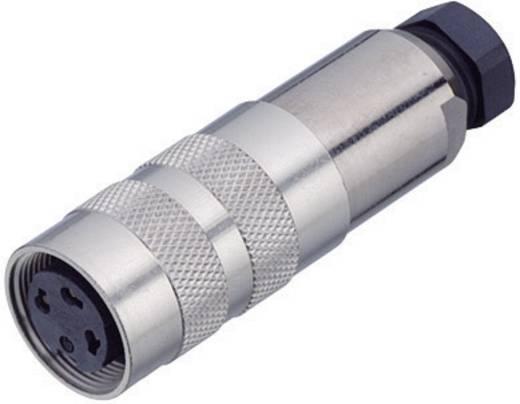 Miniatuur ronde stekker serie 423 Aantal polen: 6 DIN Kabeldoos met afscherming 6 A 99-5122-15-06 Binder 1 stuks
