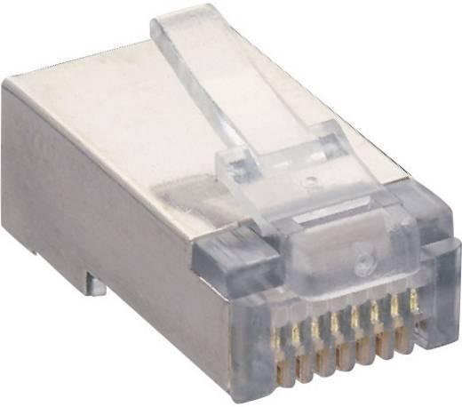 Modulaire stekker Stekker, recht RJ45 Aantal polen: 8P8C P 129 S Transparant Lumberg P 129 S 1 stuks