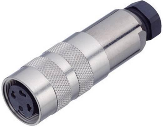 Miniatuur ronde stekker serie 423 Kabeldoos met afscherming Binder 99-5126-15-07 IP67 Aantal polen: 7