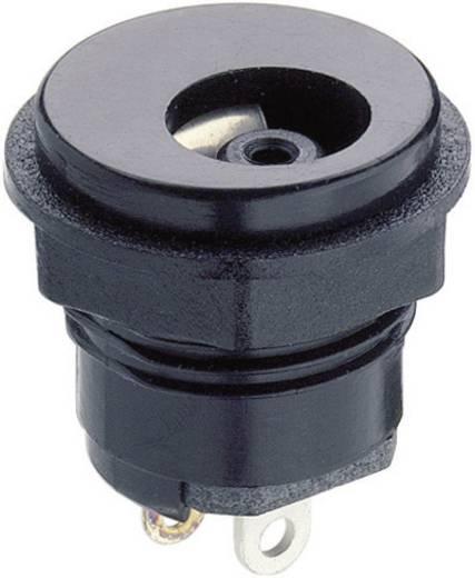 Lumberg 1614 05 Laagspannings-connector Soort schakelcontact: Zonder Bus, inbouw verticaal 7 mm 4 mm 1 stuks