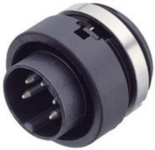 Miniatuur ronde stekker serie 678 Aantal polen: 3 Flensstekker 7 A 99-0607-00-03 Binder 1 stuks