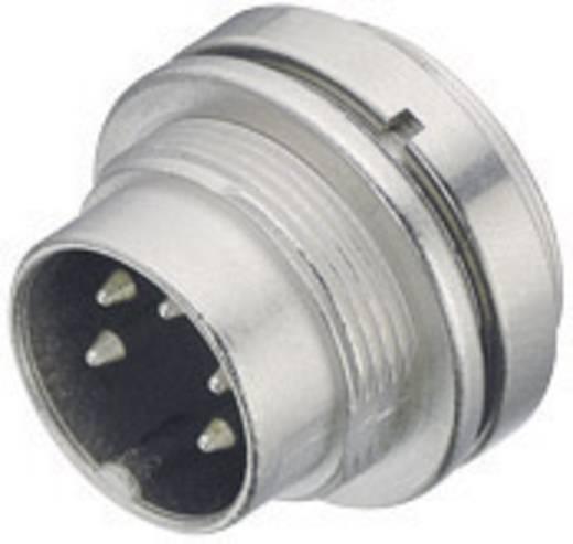 Miniatuur ronde stekker serie 723 Aantal polen: 5 Flensstekker 6 A 09-0115-00-05 Binder 1 stuks