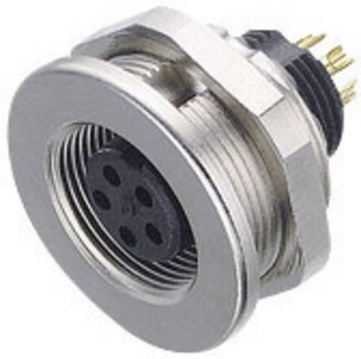 Ronde subminiatuurconnector serie 712 Aantal polen: 7 Flensdoos 1 A 09-0424-00-07 Binder 1 stuks