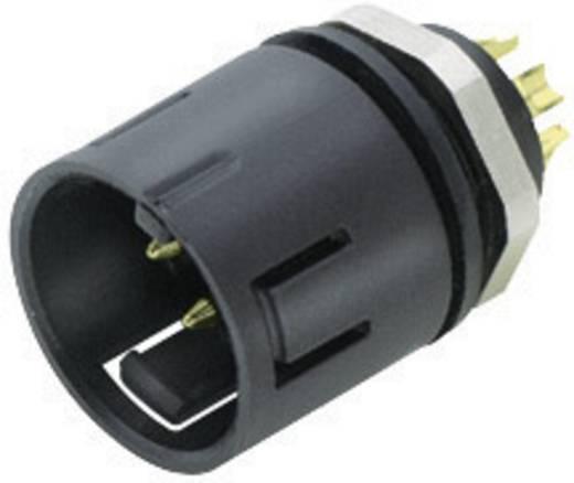Miniatuur ronde stekker, serie 720 Flensstekker Binder 99-9107-00-03 IP67 Aantal polen: 3