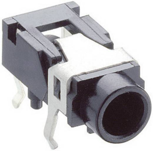 Jackplug 3.5 mm Bus, inbouw horizontaal Lumberg 1503 07 Stereo Aantal polen: 3