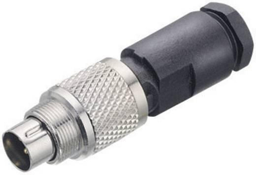 Subminiatuur ronde stekker serie 712 Kabbelstekker, recht Binder 99-0405-00-03 IP67 Aantal polen: 3
