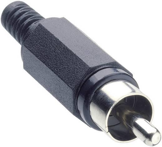 Lumberg XSTO 1 Cinch-connector Stekker, recht Aantal polen: 2 Zwart 1 stuks