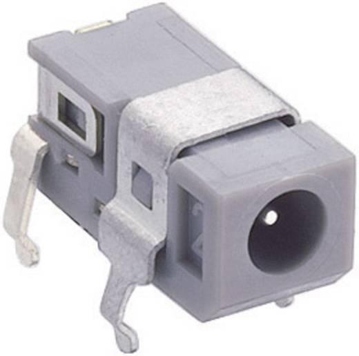 Lumberg 1613 03 Laagspannings-connector Soort schakelcontact: Opener Bus, inbouw horizontaal 2.75 mm 0.65 mm 1 stuks