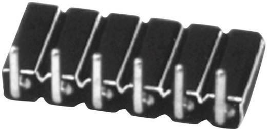 Female connector (precisie) Aantal rijen: 1 Aantal polen per rij: 4 W & P Products 154-004-1-50-00 1 stuks