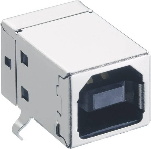 Lumberg 2411 03 USB-2.0-stekker Inbouwkoppeling type B, afgerond Bus, inbouw horizontaal 1 stuks