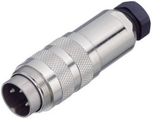 Miniatuur ronde stekker, serie 423 Aantal polen: 3 DIN Kabelstekker met afschermring 7 A 99-5105-15-03 Binder 1 stuks