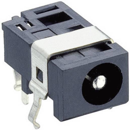 Lumberg 1613 05 Laagspannings-connector Soort schakelcontact: Opener Bus, inbouw horizontaal 4.4 mm 1.6 mm 1 stuks