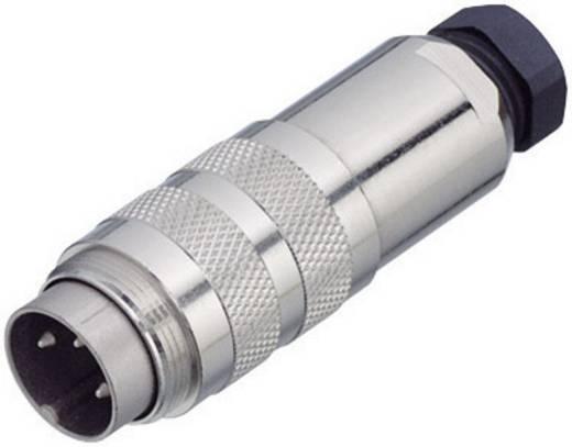 Miniatuur ronde stekker, serie 423 Kabelstekker met afschermring Binder 99-5109-15-04 IP67 Aantal polen: 4