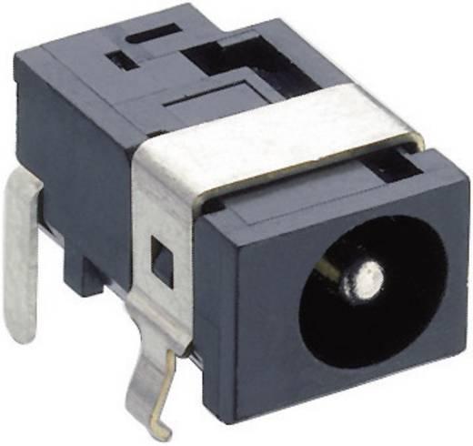 Lumberg 1613 07 Laagspannings-connector Soort schakelcontact: Opener Bus, inbouw horizontaal 5.15 mm 1.65 mm 1 stuks