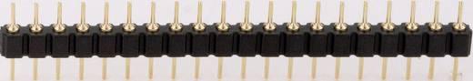 Male header, inbouw (precisie) Aantal rijen: 1 Aantal polen per rij: 20 BKL Electronic 10120536 1 stuks