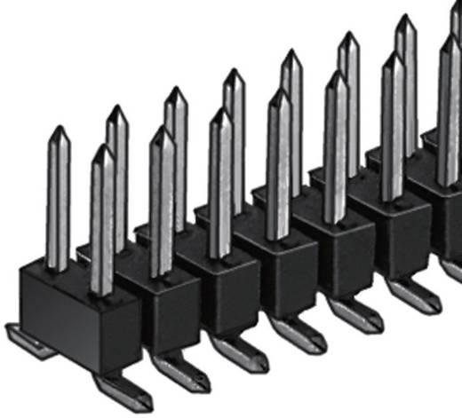 Male header (standaard) Aantal rijen: 2 Aantal polen per rij: 20 Fischer Elektronik SL 11 SMD 062/ 40/Z 1 stuks