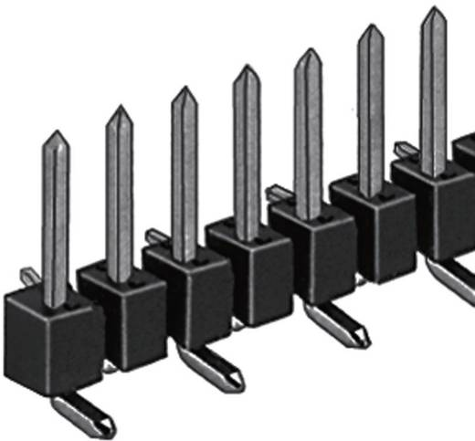 Male header (standaard) Aantal rijen: 1 Aantal polen per rij: 20 Fischer Elektronik SL 10 SMD 062/ 20/S 1 stuks