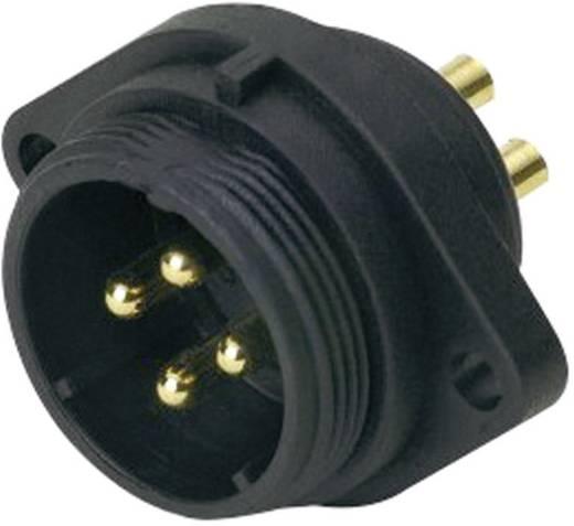 IP68-connector serie SP2113 / P 4 Flensstekker voor frontmontage Weipu SP2113 / P 4 IP68 Aantal polen: 4