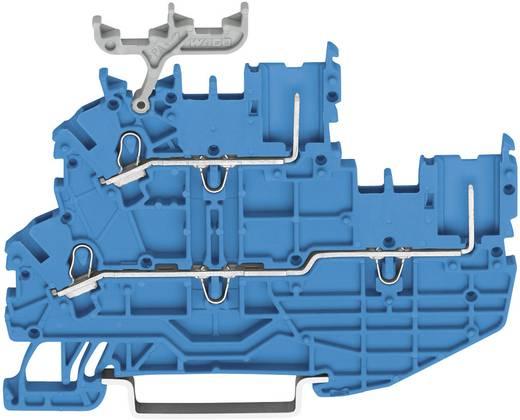 Basisklem 3.50 mm Veerklem Toewijzing: N Blauw WAGO 2020-2204 1 stuks
