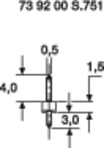 Male header (standaard) Aantal rijen: 1 Aantal polen per rij: 20 BKL Electronic 10120400 1 stuks