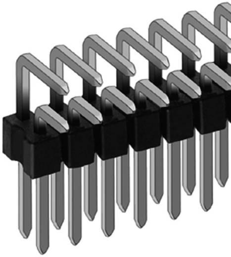 Male connector in soldeertechniek RM 2,54, haaks serie SL 19...