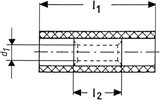 Doorverbinder 1.5 mm² 2.5 mm² Volledig geïsoleerd Blauw Klauke 780 1 stuks