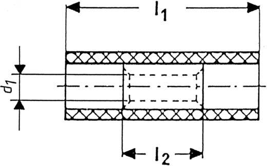 Doorverbinder 4 mm² 6 mm² Volledig geïsoleerd Geel Klauke 790 1 stuks