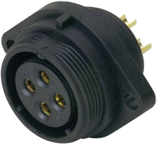 IP68-connector serie SP2113 / S 4 Flensbus voor frontmontage Weipu SP2113 / S 4 IP68 Aantal polen: 4