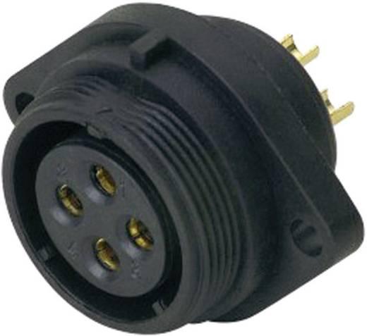 IP68-connector serie SP2113 / S 5B Aantal polen: 5B Flensbus voor frontmontage 5/30 A SP2113 / S 5B Weipu 1 stuks
