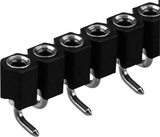 Female connector (precisie) Aantal rijen: 1 Aantal polen per rij: 20 Fischer Elektronik MK 22 SMD/ 20 1 stuks
