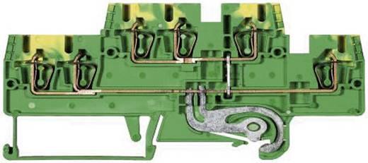 Duo-etagerandaardeklem Fasis WKFN 2,5 E/SL/35 Wieland Groen-geel Inhoud: 1 stuks