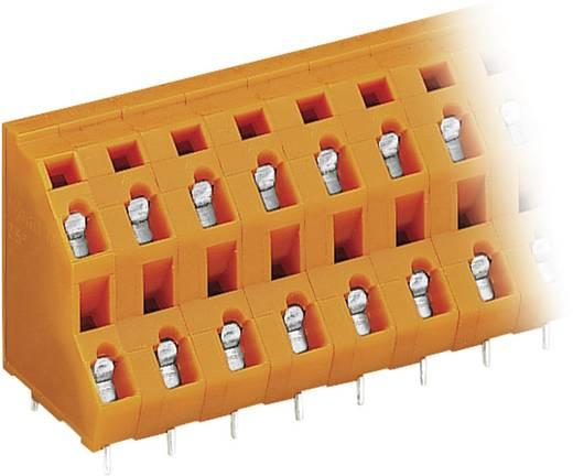 Dubbeldeksklem 2.50 mm² Aantal polen 8 736-604 WAGO Oranje 1 stuks