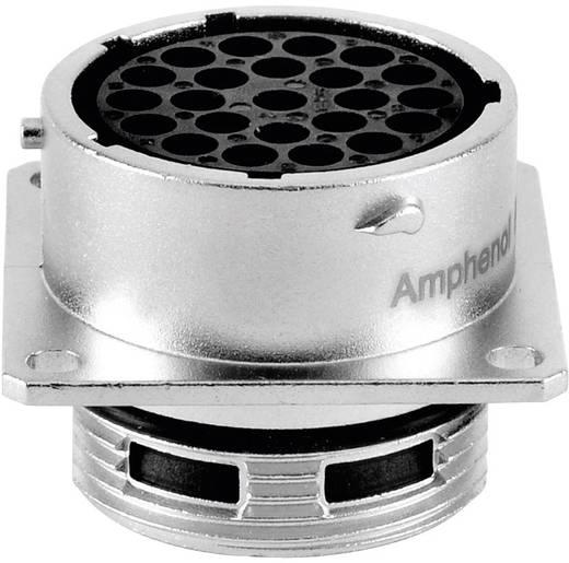 Apparaatconnector-bus - serie RT360 Vierkante flens Aantal polen: 23 RT0018-23SNH Amphenol