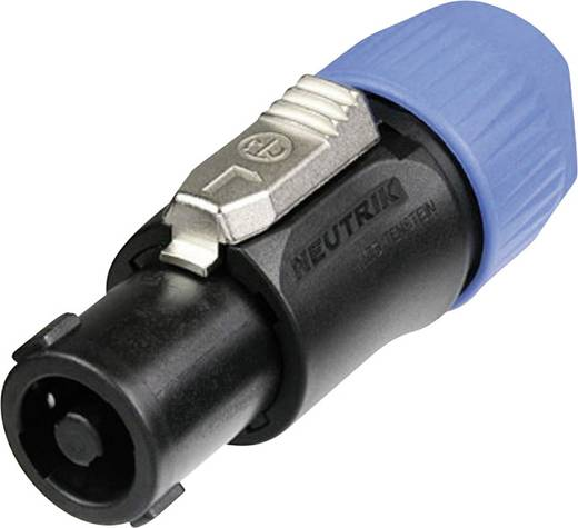 Neutrik NL4FC Luidsprekerconnector Stekker, recht Aantal polen: 4 Zwart, Blauw 1 stuks
